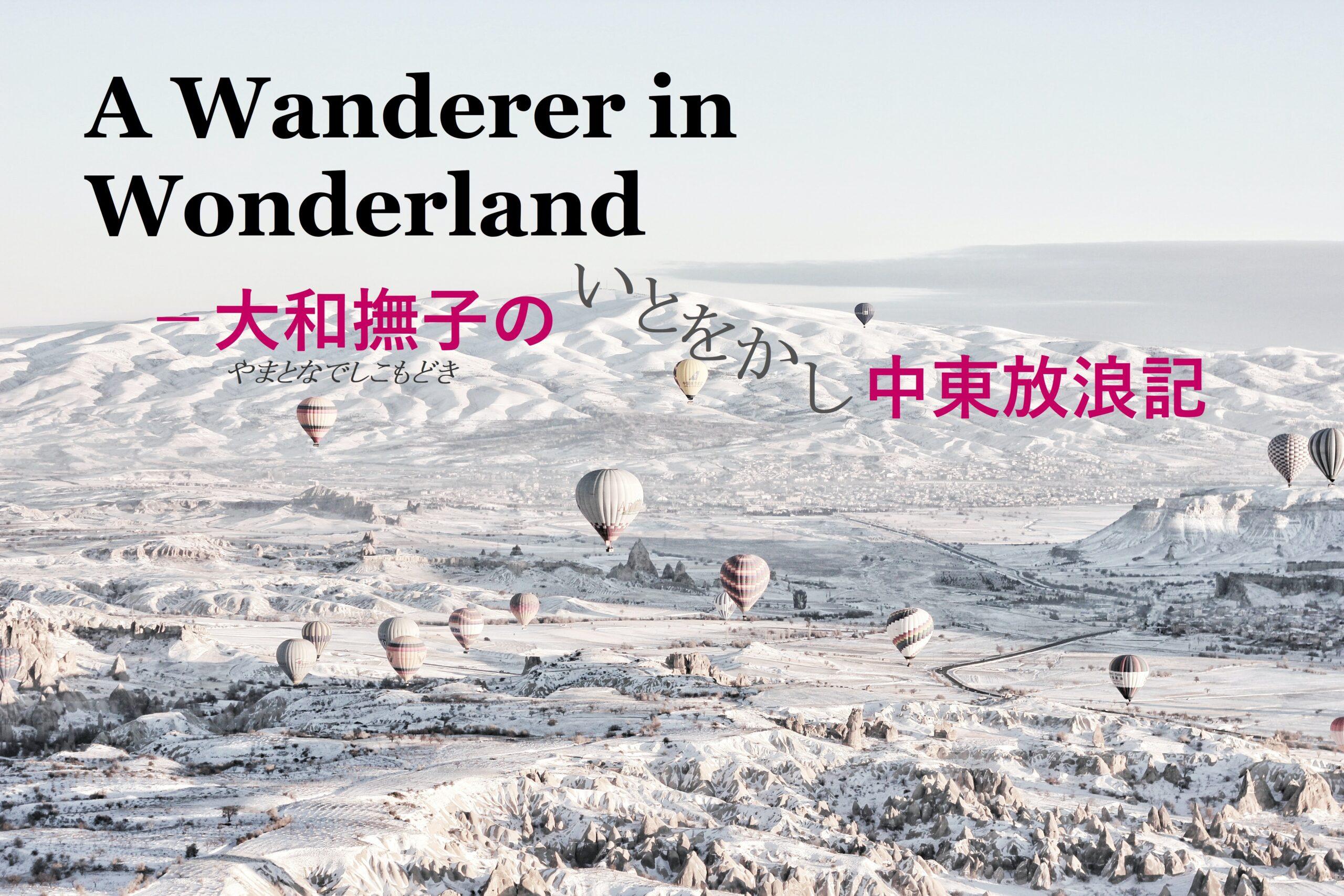 A Wanderer in Wonderland - 大和撫子の中東放浪記